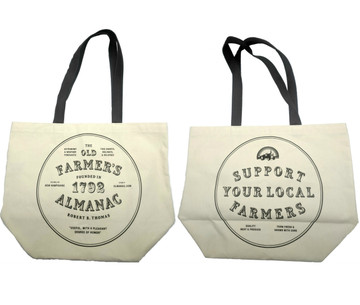 FRONT AND BACK OF BAG SHOWN