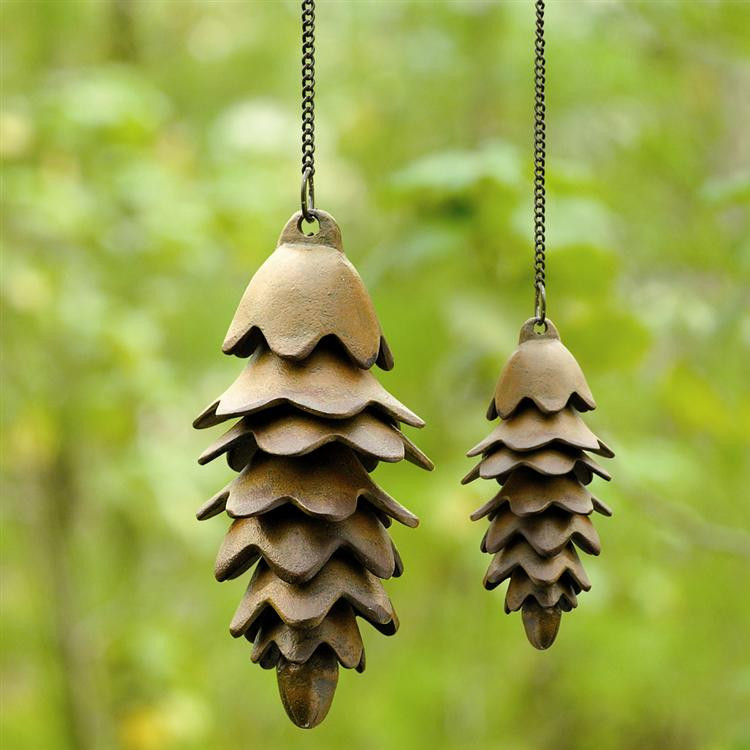 Large Pine Cone Wind Chime