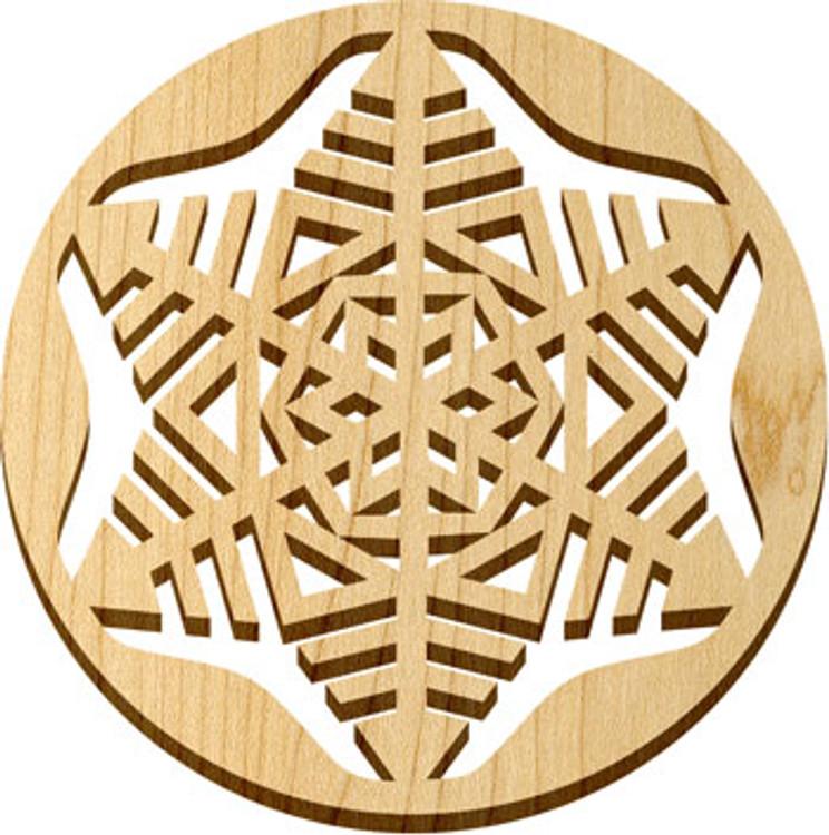 Solace Trivet Snowflake