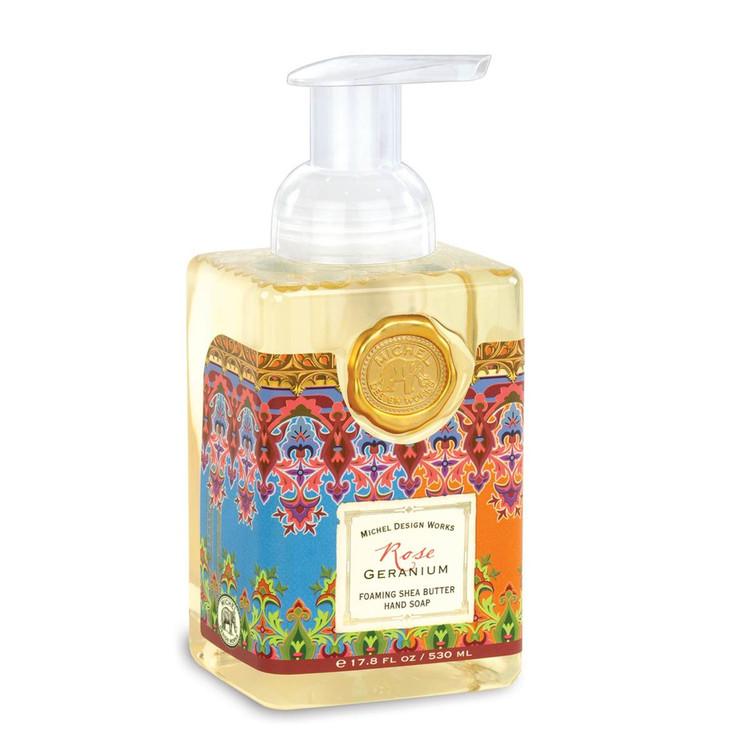 Rose Geranium Foaming Shea Butter Hand Soap