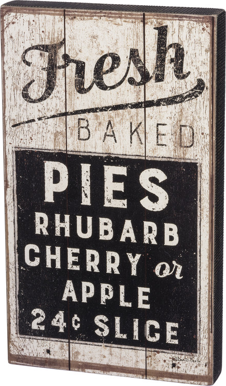 Box Sign - Fresh Baked