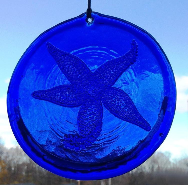 Sea Star Large Suncatcher