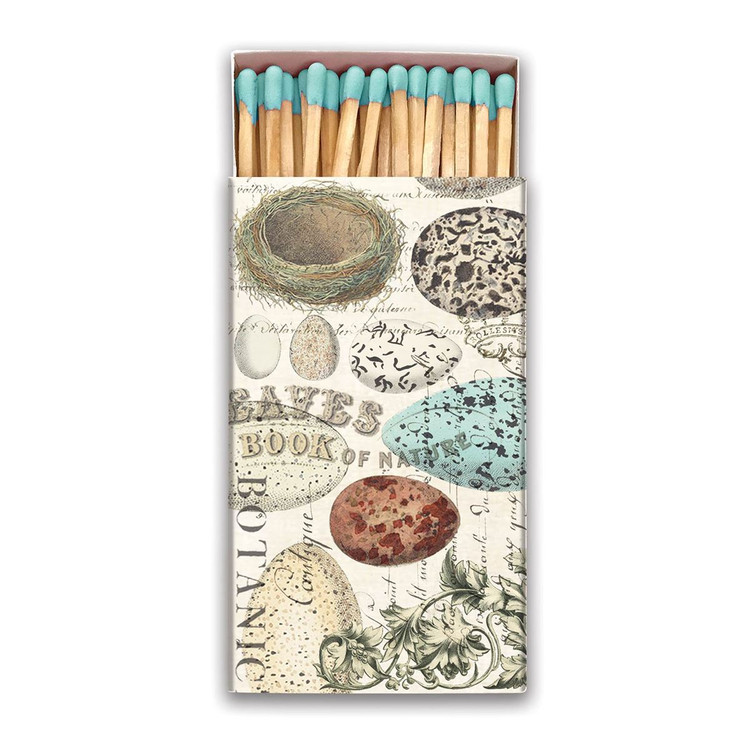Nest and Eggs Matchbox