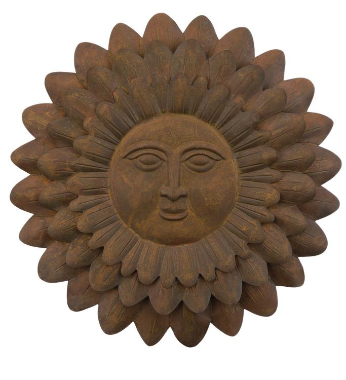 """Sun Face Sunflower 23"""" Wall Decor"""