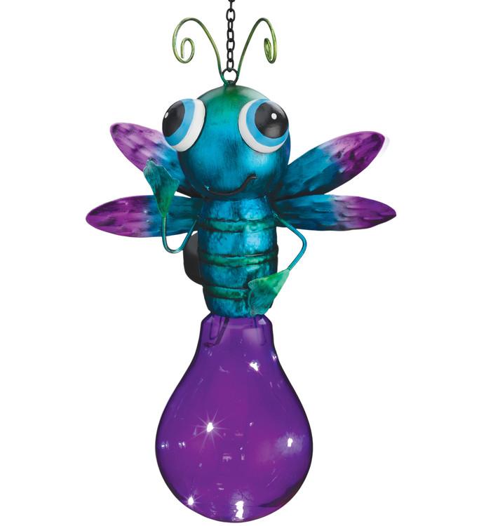 Solar Firefly Lantern - Purple