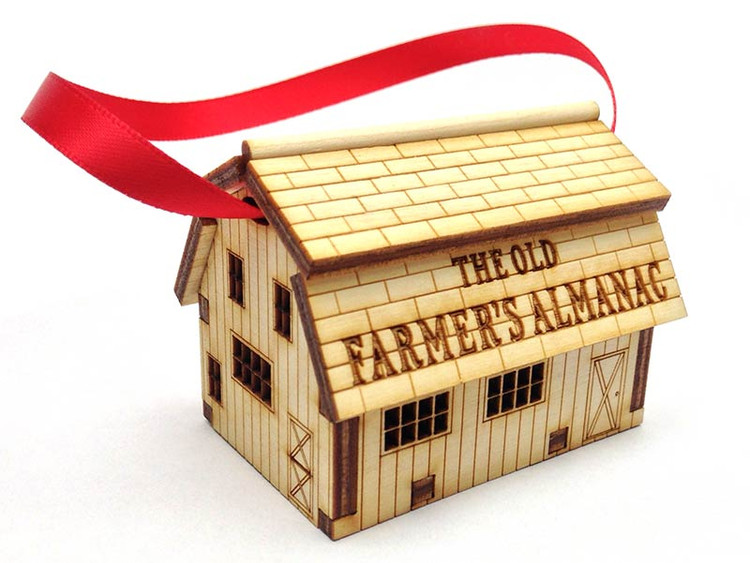Old Farmer's Almanac Barn Ornament