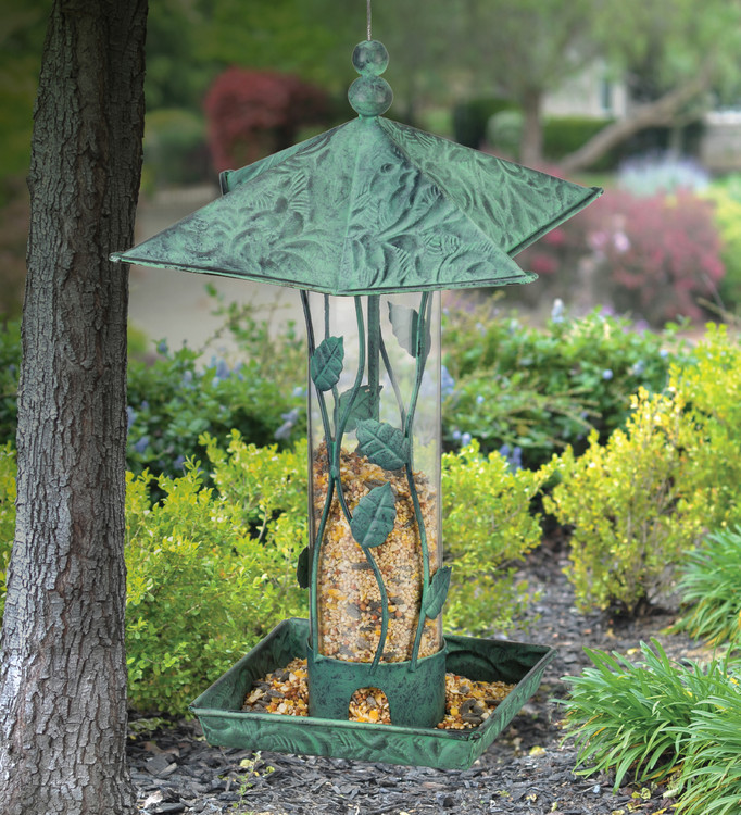 Green Branches Bird Feeder