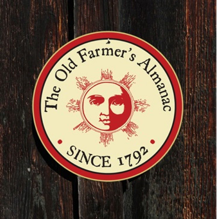 The Old Farmer's Almanac Metal Shop Sign