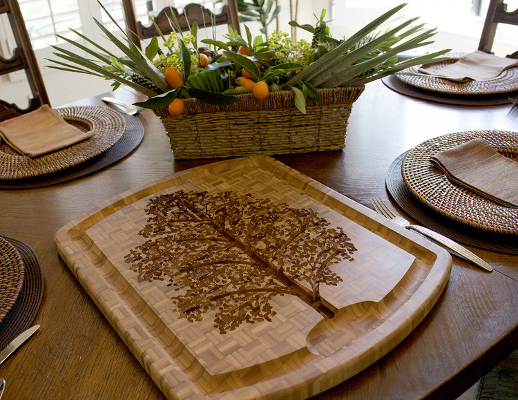 Family Tree Carving Board