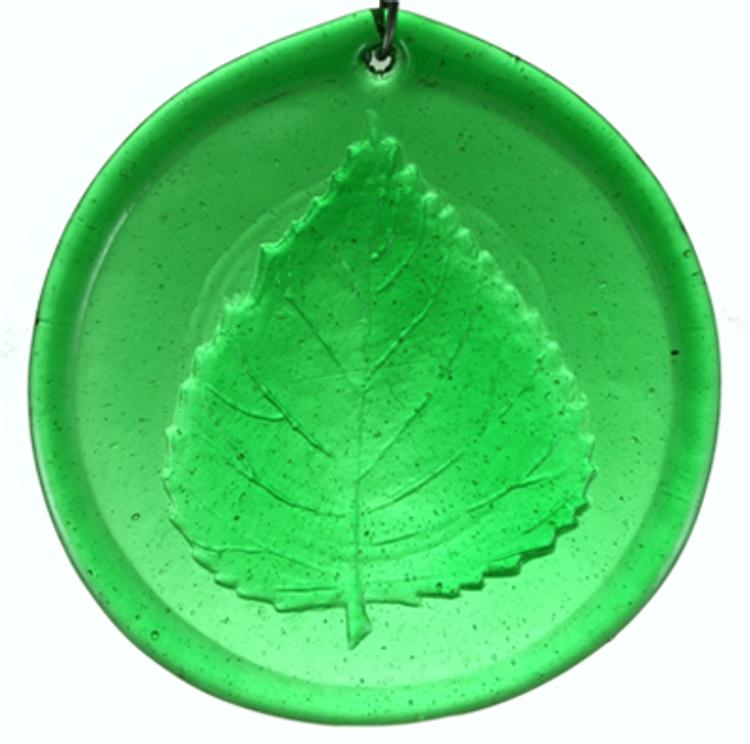 Aspen Leaf Large Suncatcher
