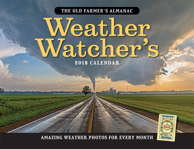 The 2018 Old Farmer's Almanac Weather Watcher's Calendar