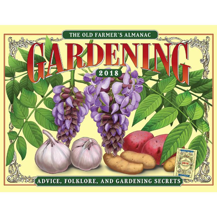 2018 calendars - Farmers almanac gardening calendar ...