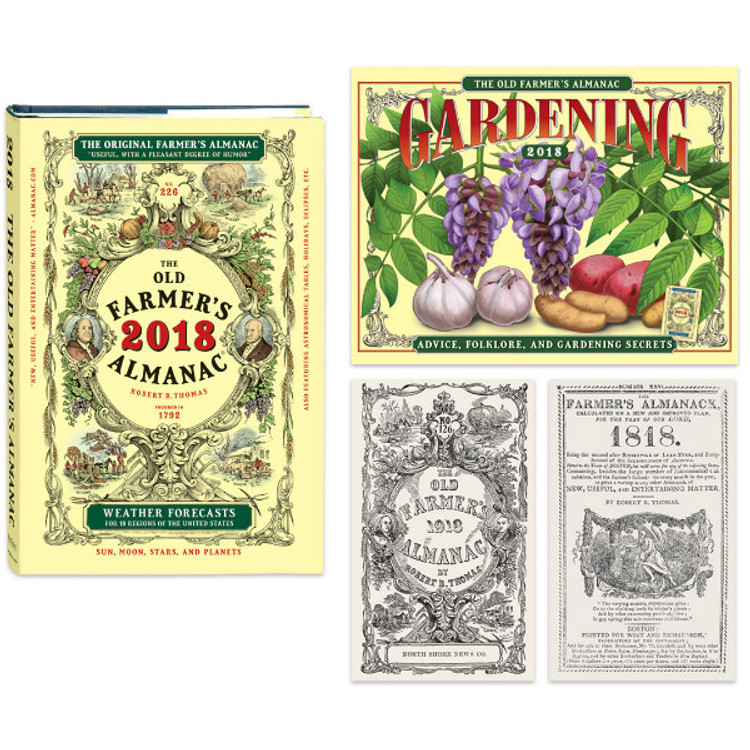 The 2018 Old Farmer's Almanac - Collector's Edition