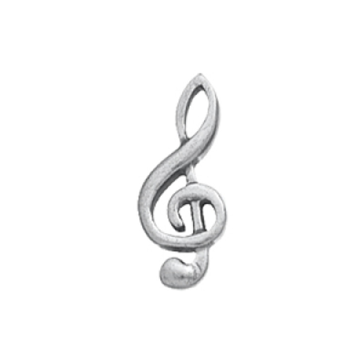 G Clef Scatter Pin
