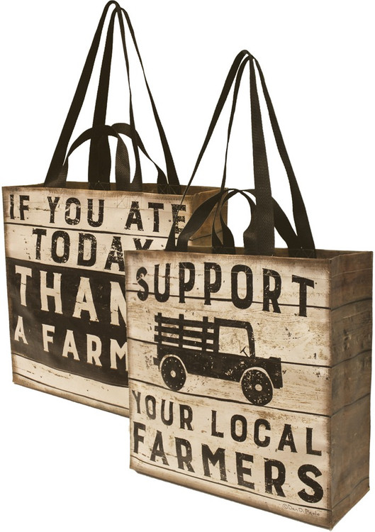 Market Tote - Local Farmers'