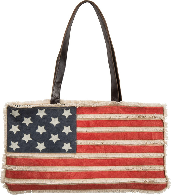 Canvas Bag - American Flag