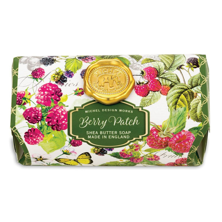 Berry scented luxury soap