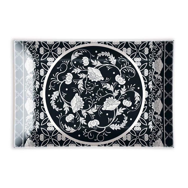 Bouquet Glass Soap Dish