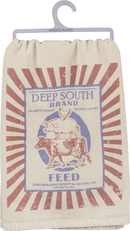 Dish Towel - Deep South Brand 100 Lbs