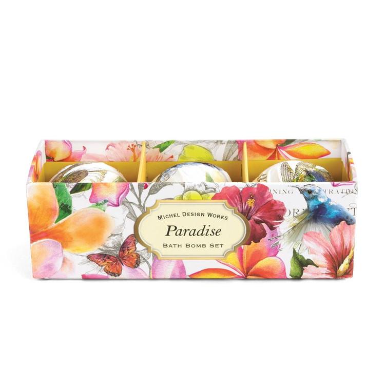 Paradise Bath Bomb Set