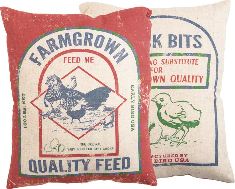 Pillow - Farmgrown Feed