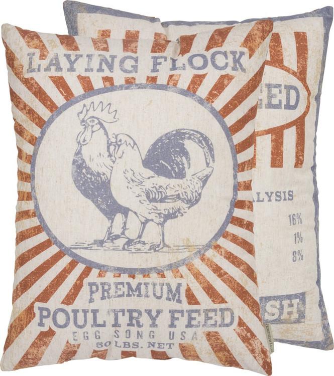 Pillow - Laying Flock