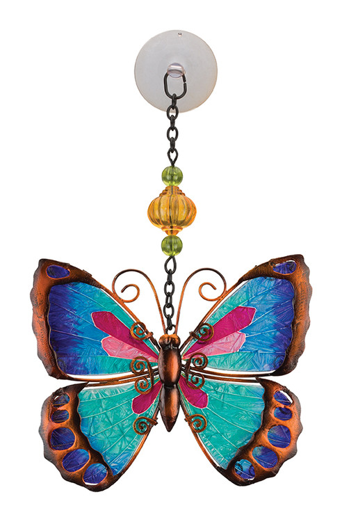 Sun Catcher - Green Butterfly