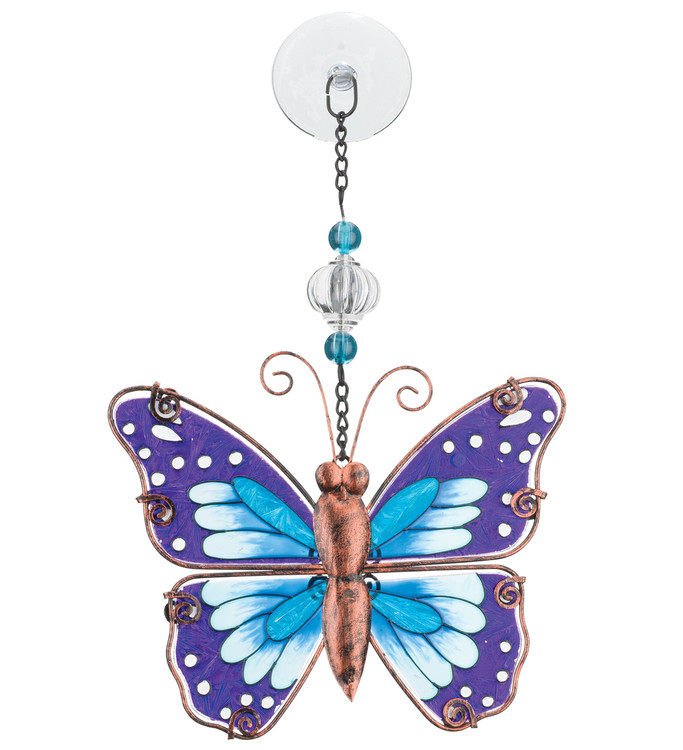 Sun Catcher - Purple Butterfly