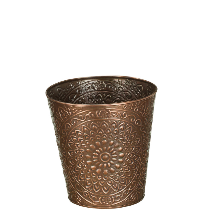 Tapered Planter 6 inch - Medallion