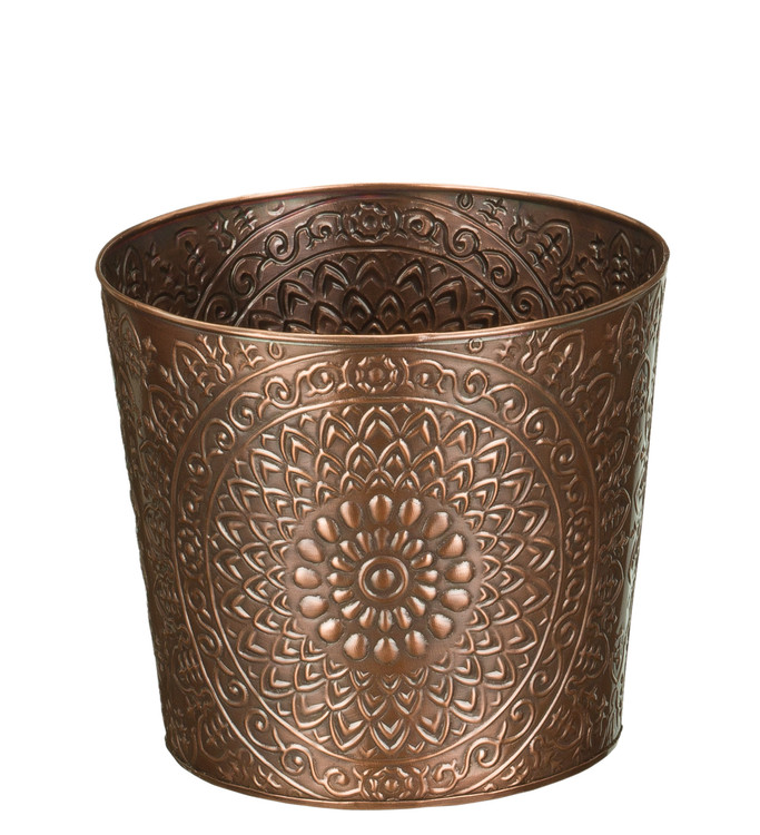 Tapered Planter 8 Inch - Medallion