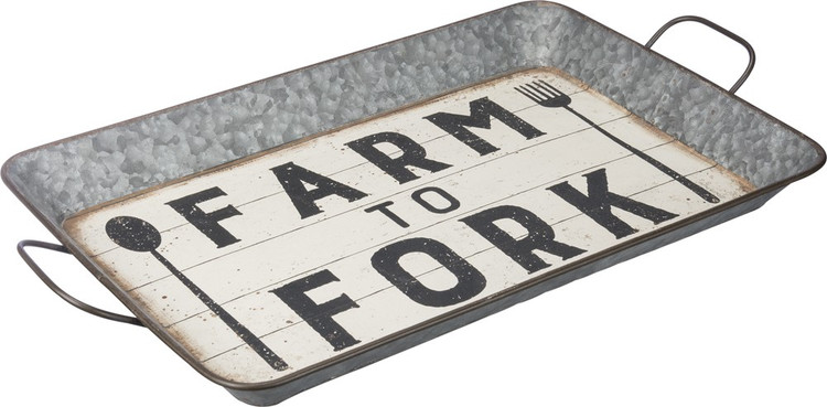Tin Tray - Farm To Fork