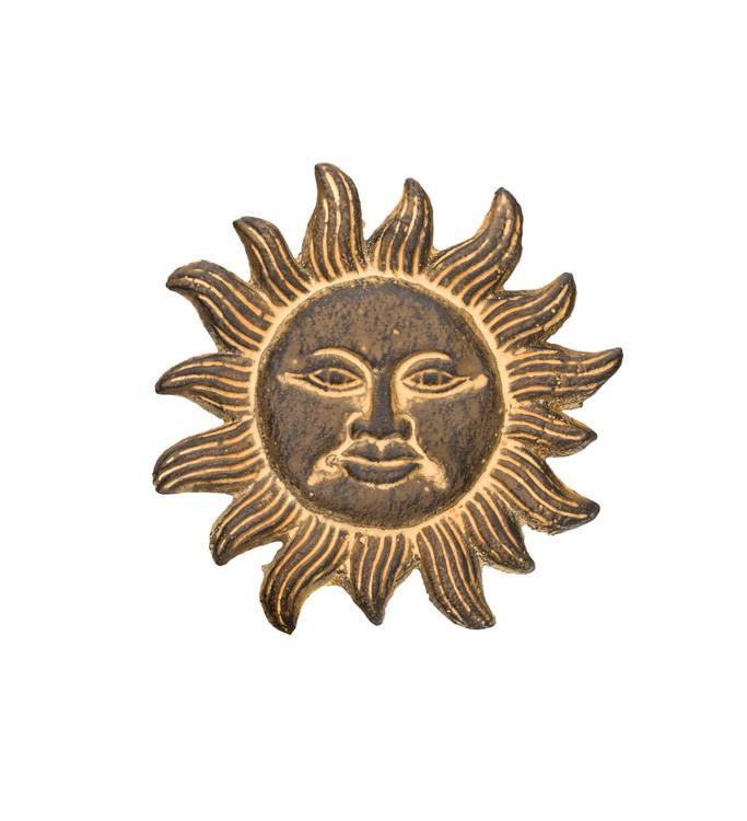 Vintage Cast Iron Sun 7 Inch