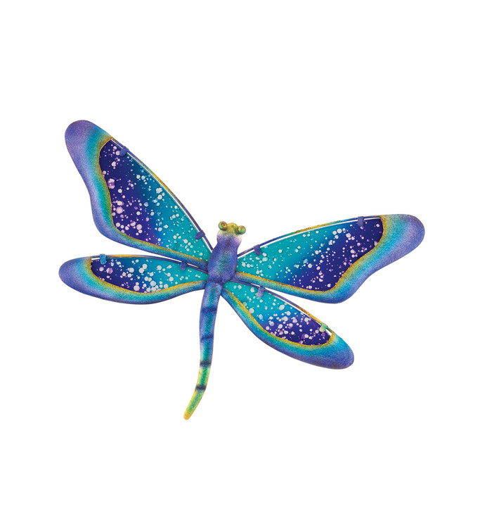 Watercolor Wall Decor - Dragonfly 11""