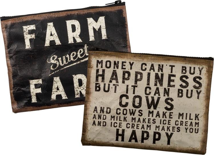 Zipper Pouch - Farm Sweet