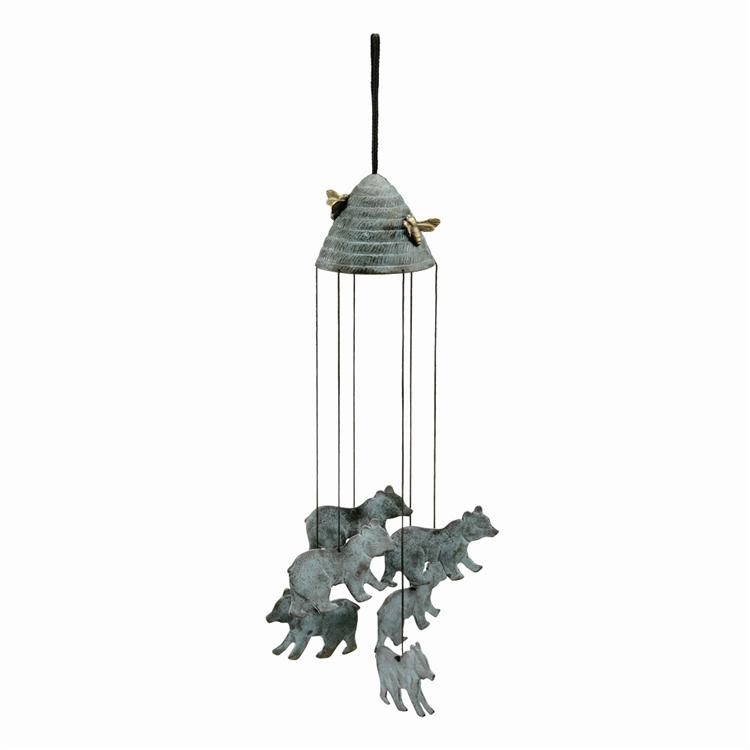 Bee and Bear Wind Chime