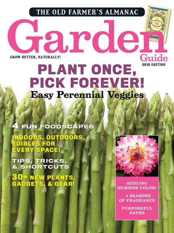 The Old Farmer's Almanac Garden Guide, 2018 Print Edition