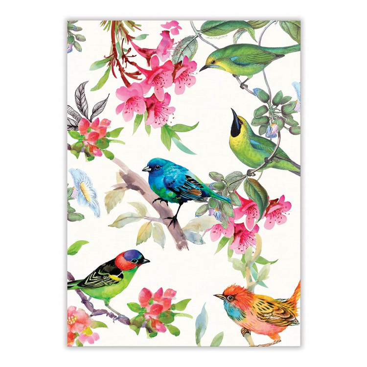 Bird Song Kitchen Towel