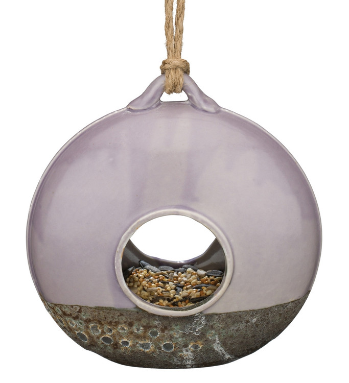 Ceramic Bird Feeder - Wheel