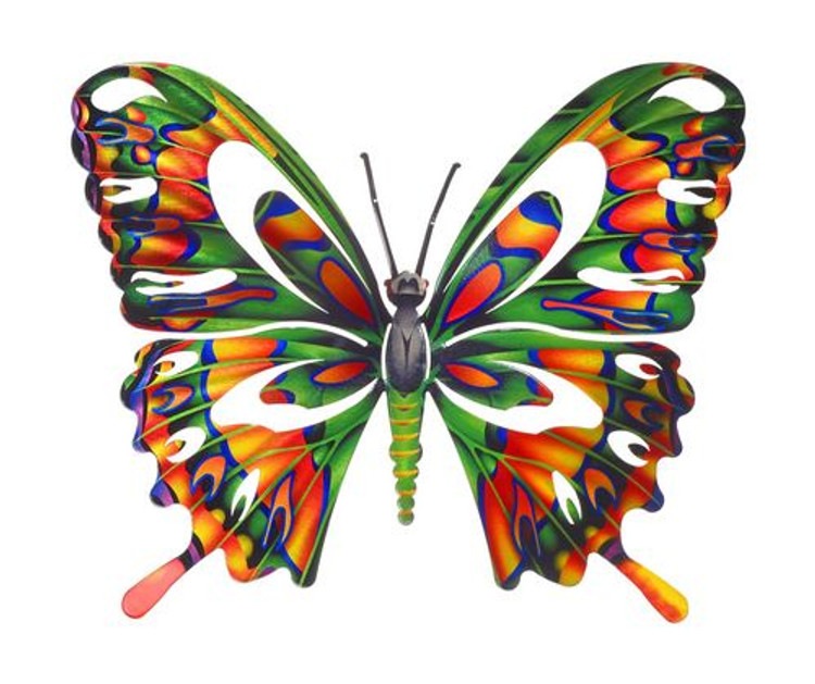 Metal Wall Art - Butterfly Multi Refraxions