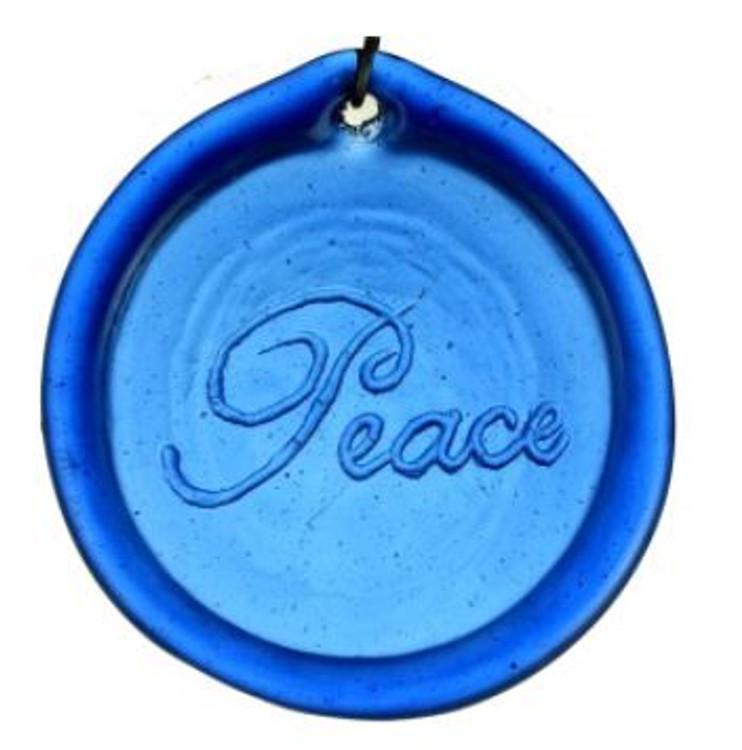 Inspirational Peace Suncatcher