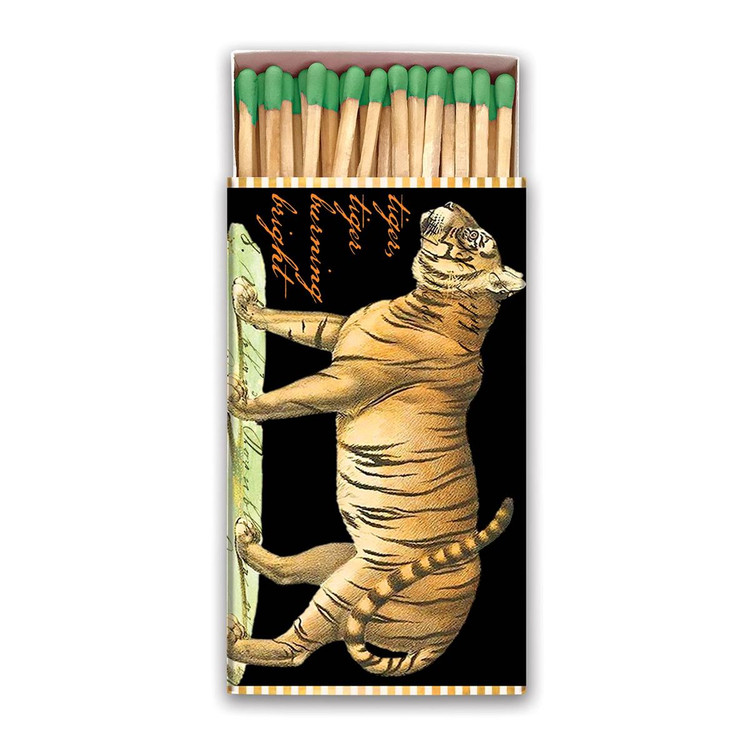 Tiger Matchbox