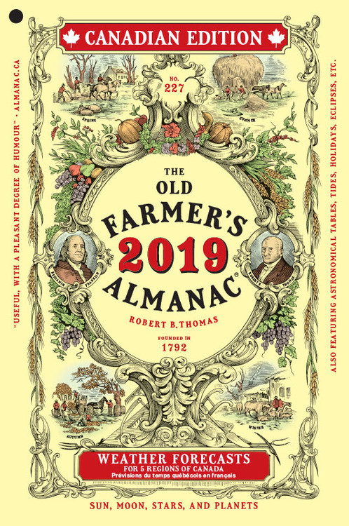 The 2019 Old Farmer's Almanac - Canadian Edition