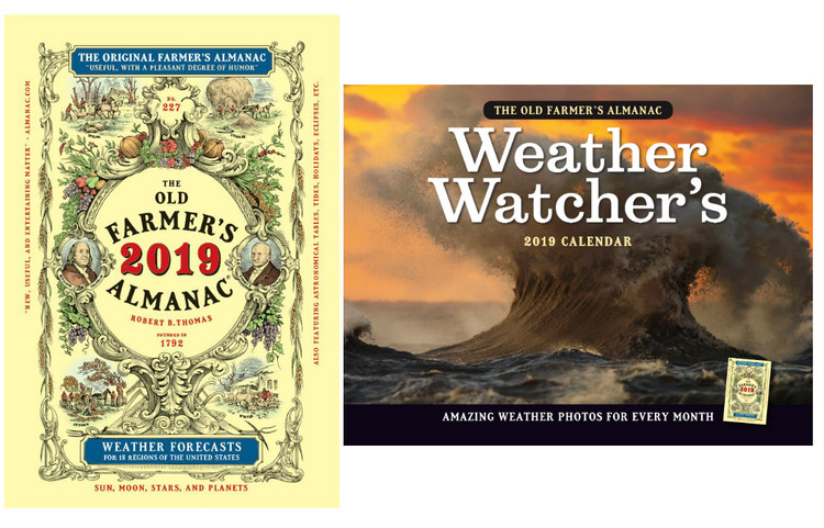 The 2019 Old Farmer's Almanac - Bookstore Edition Special Offer