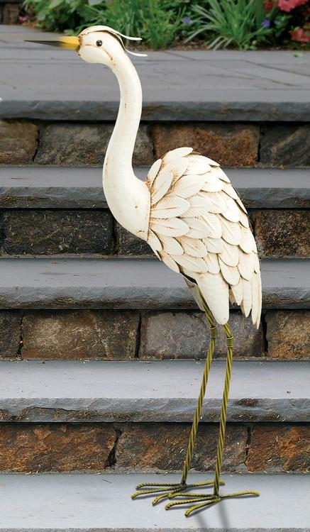 "Snowy Egret 28"" Sculpture"