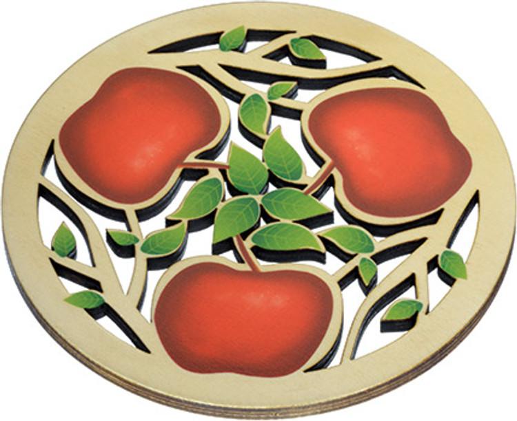 Solace Trivet Apples