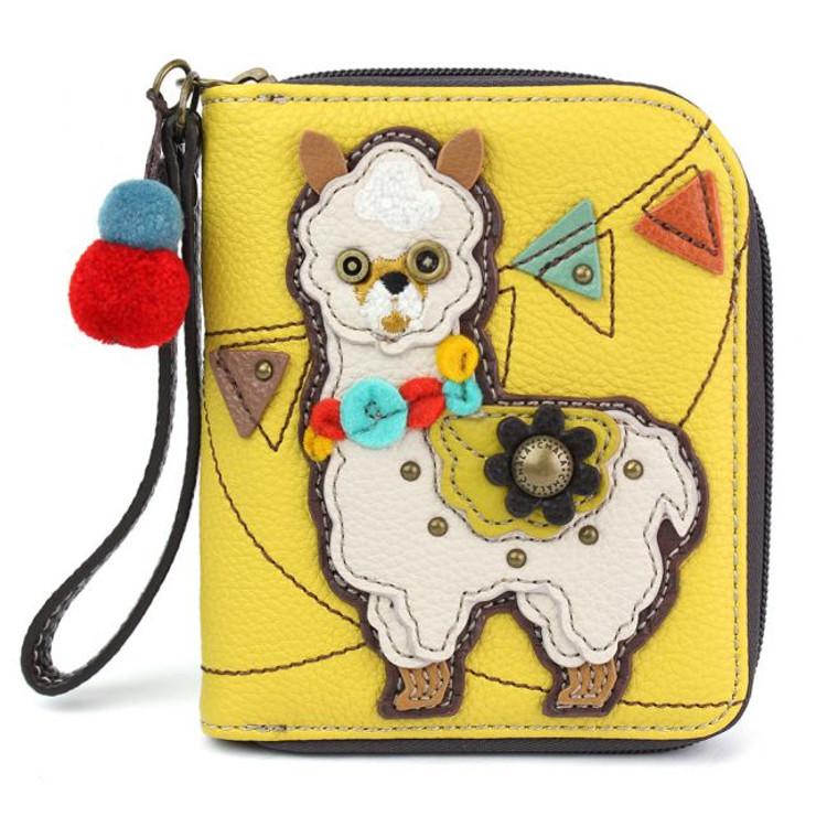 Zip Around Wallet - Llama