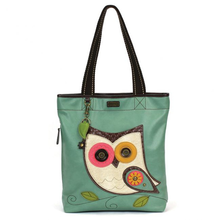 Everyday Zip Tote II - Hoohoo Owl