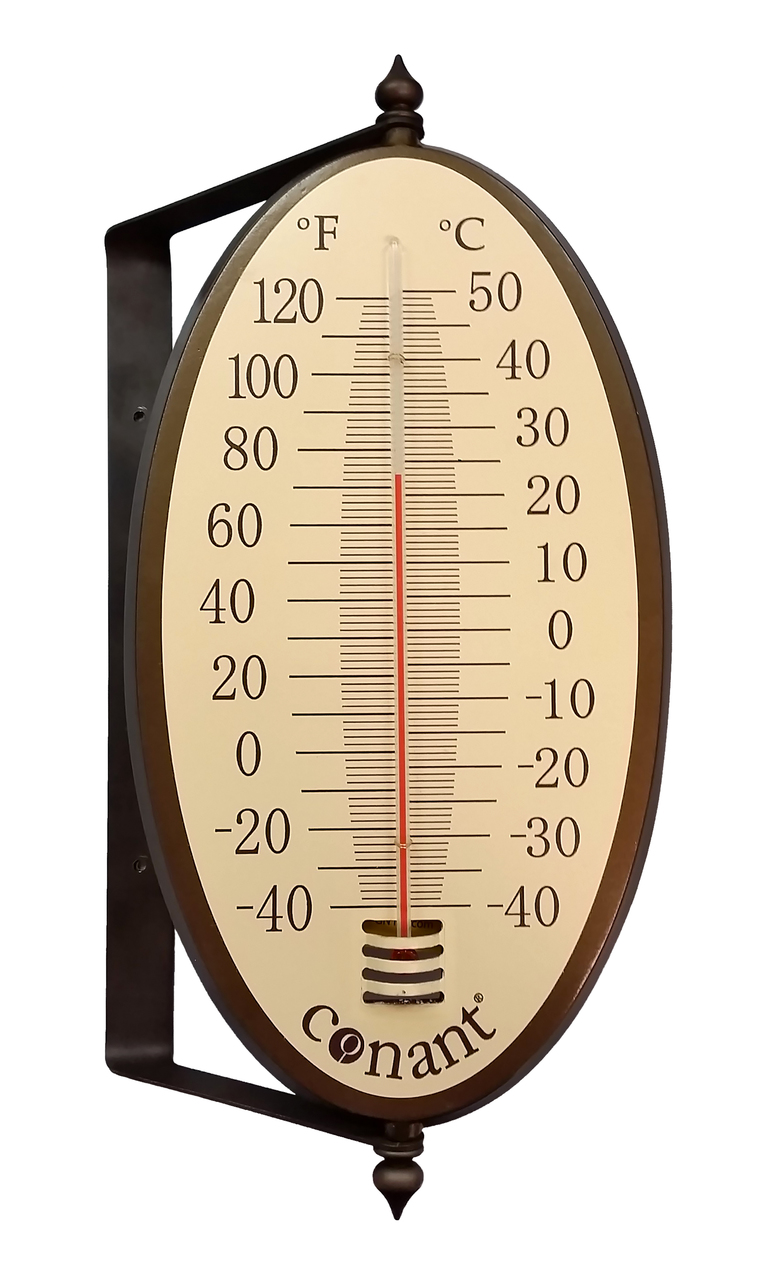Vintage Oval Thermometer - The Old Farmer\'s General Store