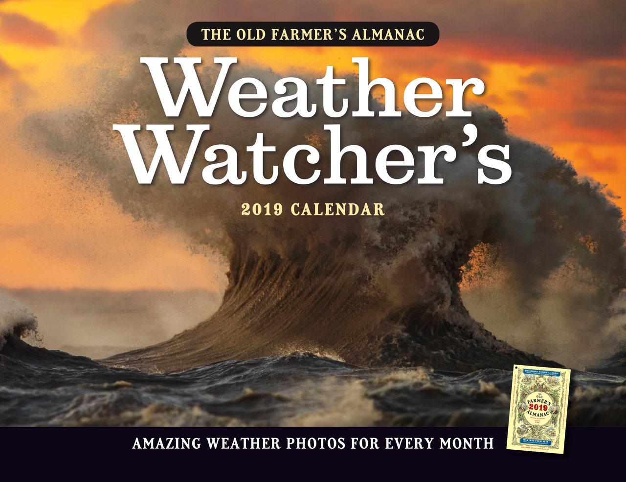 The 2019 Old Farmer\'s Almanac Weather Watcher\'s Calendar - The Old ...