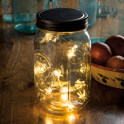 Mason Jar Lid Star Lights The Old Farmer S General Store